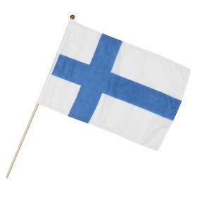 Finland, Hand Flag 29x44cm