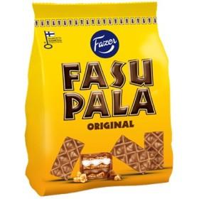 Fazer, Fasupala Original, Waffelbisse mit Milchschokolade & Toffee 215g